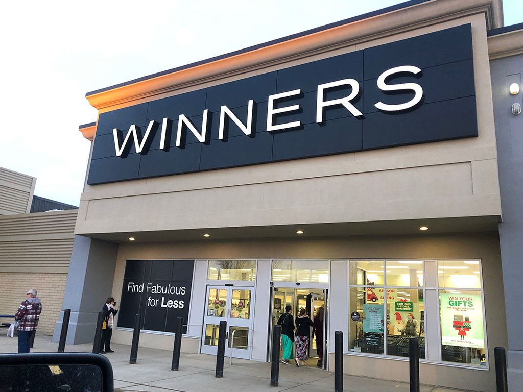 Winners storefront